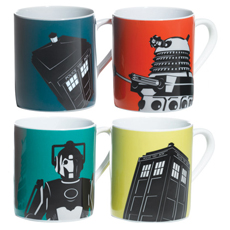 Doctor Who Boxed Mug Set