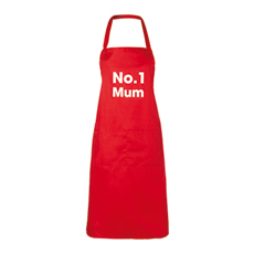 No.1 Mum Apron - 25 Cheap And Unique Mothers day present Ideas For Super Moms | Gifts Ideas For Mom