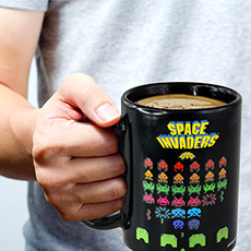 Space Invaders Colour Changing Mug