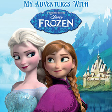 Personalised Disney Frozen Adventure Book