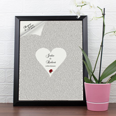 Personalised Romeo & Juliet Poster