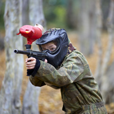Paintballing for Eight Experience Day