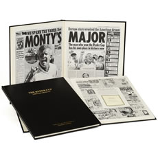 Personalised Sports History Book Deluxe