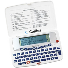 Collins Electronic Dictionary and Thesaurus