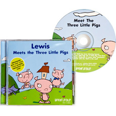 Personalised Story CD - Three Little Pigs