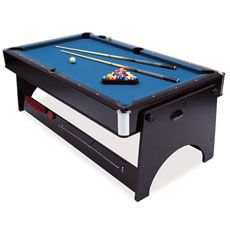 Scorpio 2 in 1 Pool and Air Hockey Table