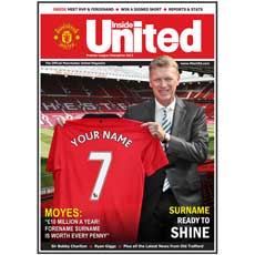 Personalised Football Club Magazine Photo