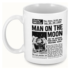 Personalised Front Page Newspaper Mug