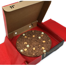 Chocolate Pizza - Heavenly Honeycomb - 7""