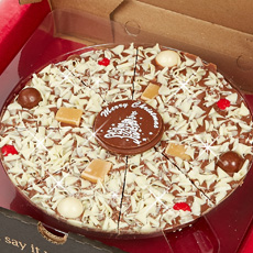 Christmas Chocolate Pizza - 7""
