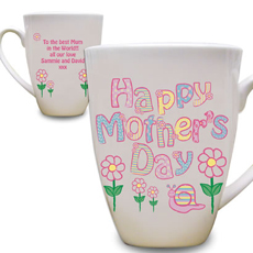 Personalised Daisy Mothers Day Mug-25 Cheap And Unique Mothers day present Ideas For Super Moms | Gifts Ideas For Mom