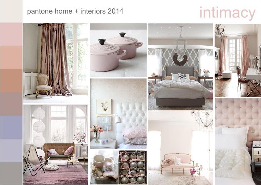 Pantone intimacy color trend