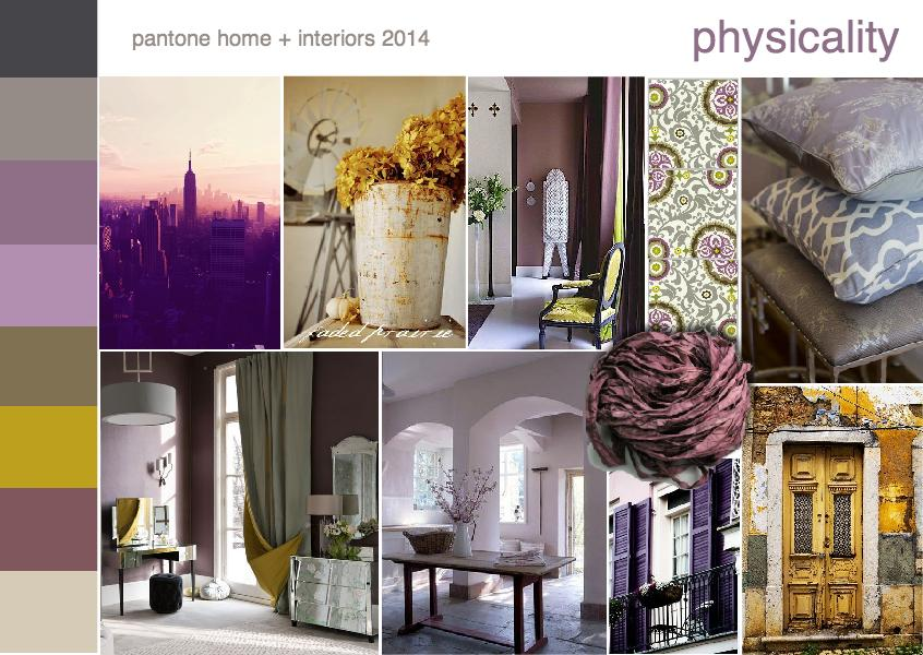 Pantone color trend physicality