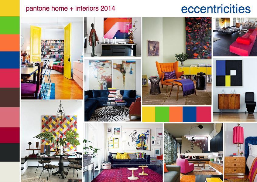 Pantone color trend eccentricities
