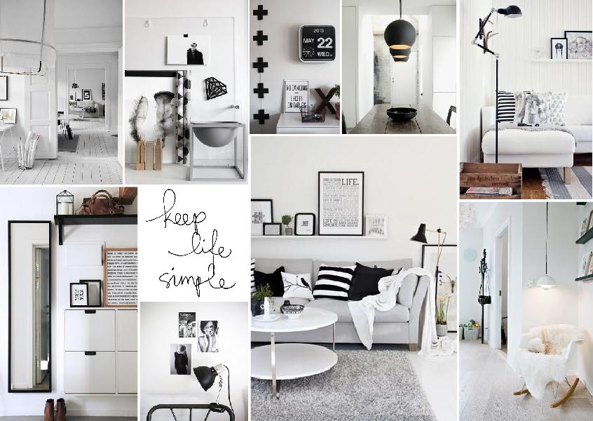 scandinavian inspired interior