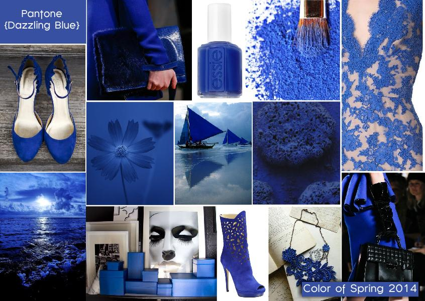 Pantone Color of Spring 2014 | Dazzling Blue