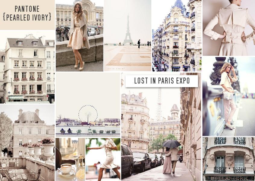 Pantone Pearled Ivory | Lost in Paris II