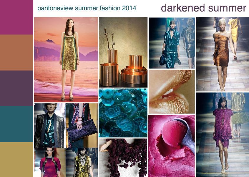 fashion 2014 trend | darkened summer