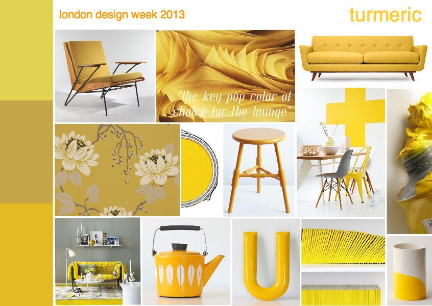 London design week 2013 | turmeric