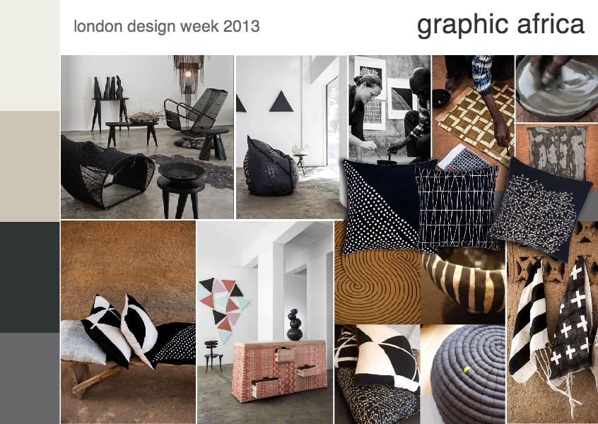 London design week 2013 | graphic africa
