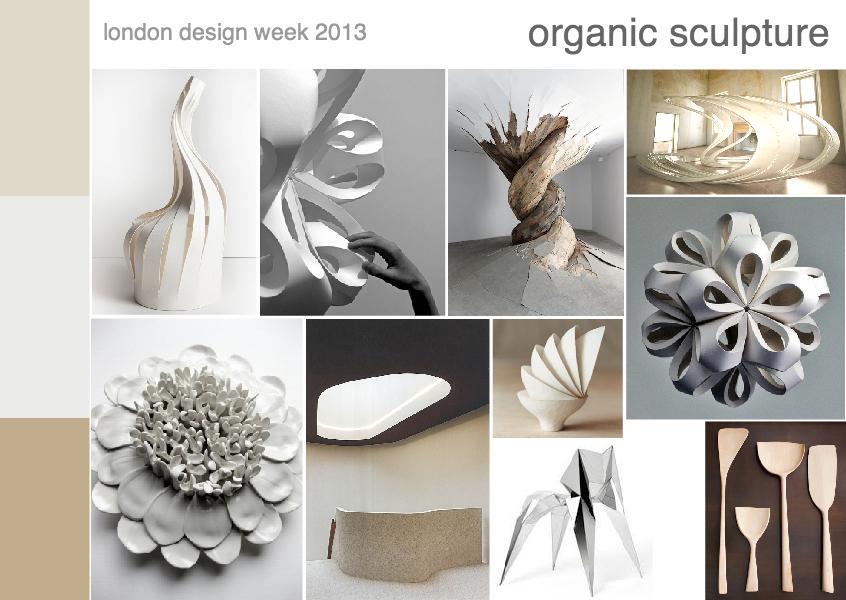 London design week 2013 | organic scultpure