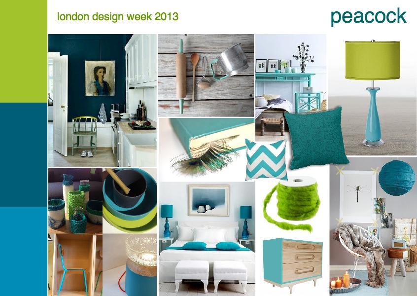 London design week 2013 | peacock