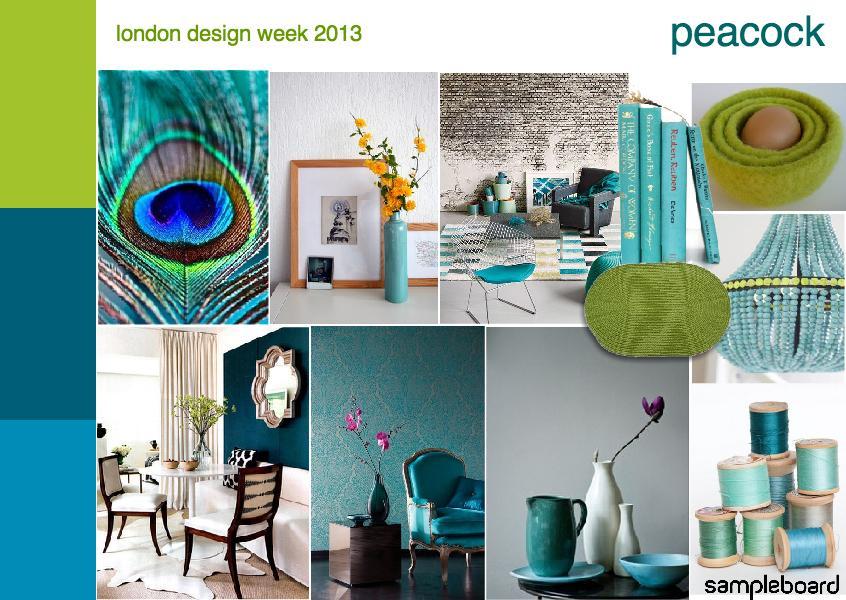 London design week 2013 | peacock II