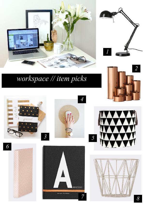 Workspace / Item Picks