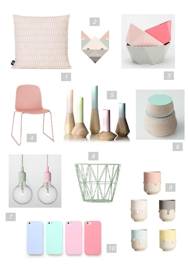 Trend Alert / Decorating with Pastel