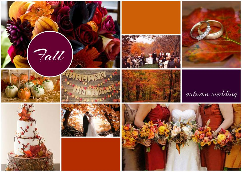 Fall Autumn Wedding