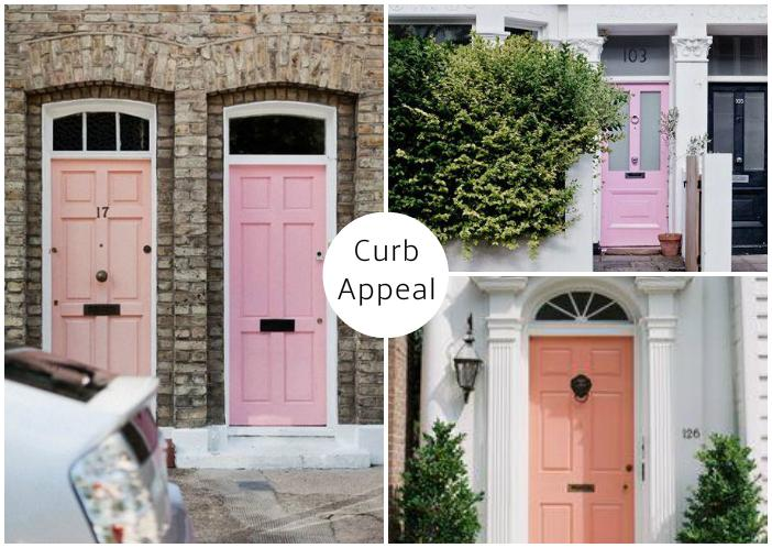 Pale Pink Curb Appeal