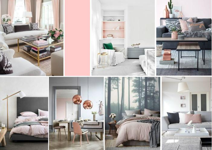 Simple and Neutral with Pale Pink