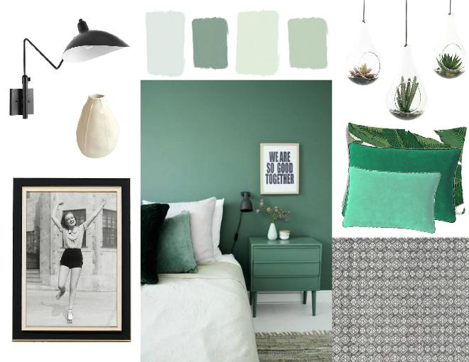 Muted Greens