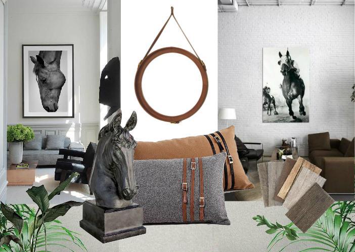 Horse inspired decor