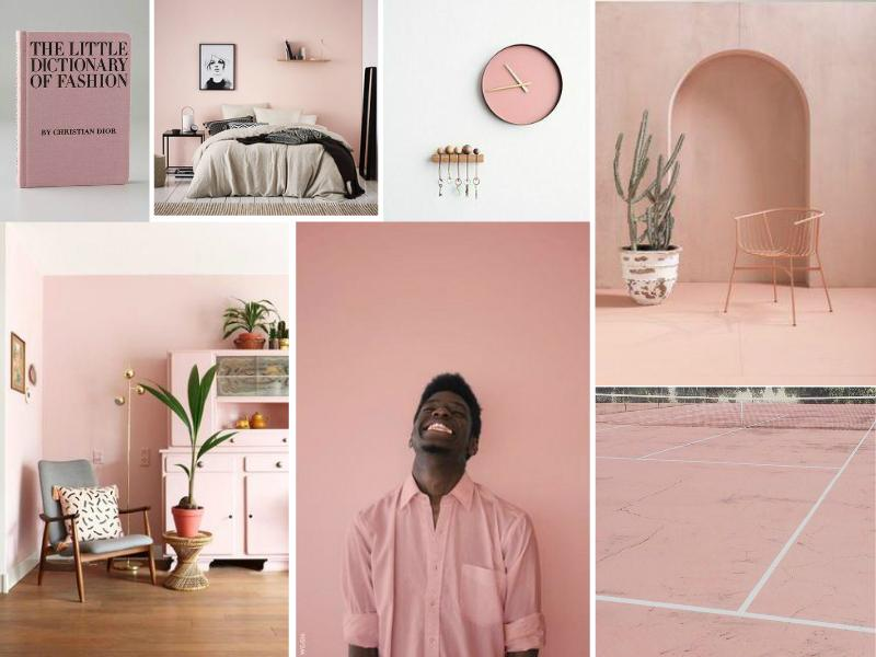 Millennial Pink Color Trend