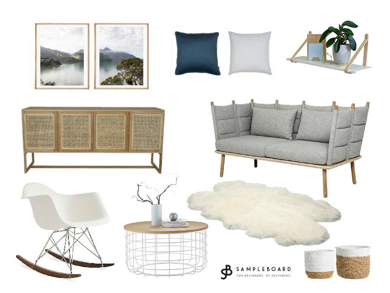 Scandinavian design with elements of Japandi