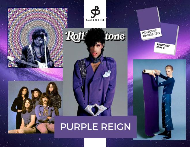 Purple Reign Pantone Color of the Year 2018
