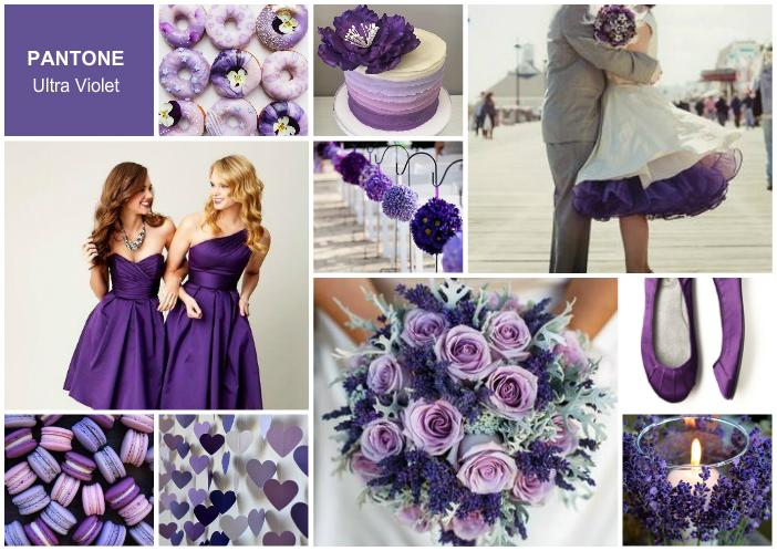 Pantone Color of the Year 2018 for Weddings