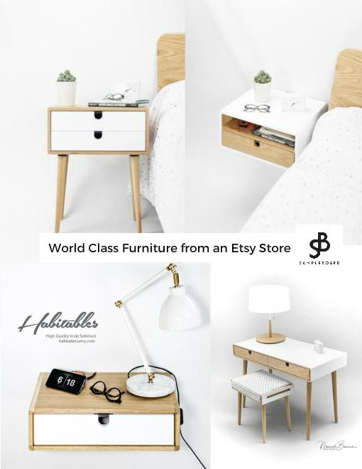 Habitables  World Class Furniture from an Etsy Store