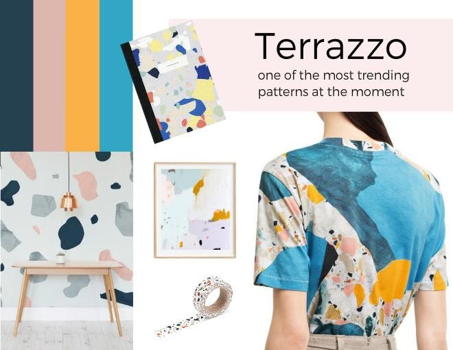Terrazzo one of the most trending patterns on the market