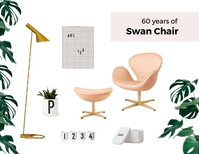 Swan Chair  mid century modern furniture classic