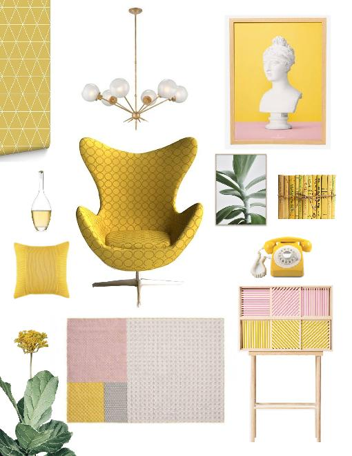 GenZ Yellow color trend