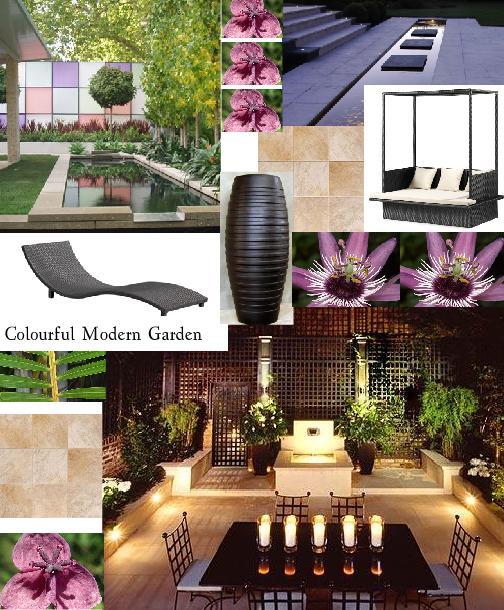 Colourful Modern Garden