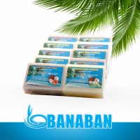 BANABAN Special Bulk Offer - 100% Pure Virgin Coconut Oil Soaps x 10