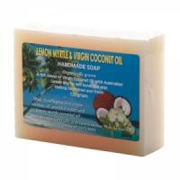 BANABAN Virgin Coconut Oil Aust LEMON MYRTLE Soap 120g