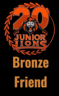 Junior Lions | Bronze Friend