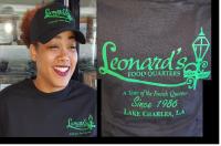 Leonard's Cap and T-Shirt