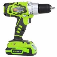 Greenworks 24V accu Boor-, Schroefmachine