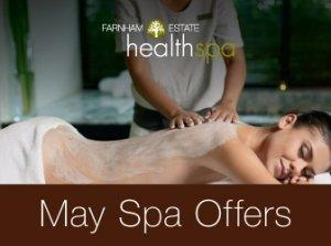 May Spa Offer, Farnham Estate Health Spa Co. Cavan