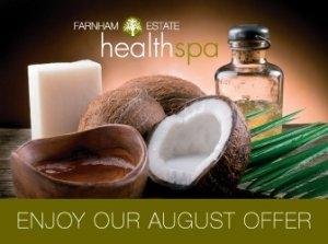 August Spa Offer, Farnham Estate Health Spa Co. Cavan